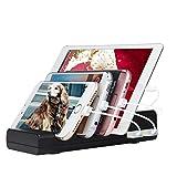 Asltoy USB 充電 ステーション 充電 スタンド 4ポート スマホ 充電器 収納 充電 最大2.4A搭載 iPhone iPod iPad Android スマホ対応 (黒い)