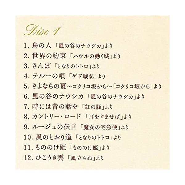 リラクシング・ピアノ~ベストジブリ・コレクションの紹介画像4
