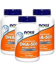 3個セット 高含有DHA-500 90粒 [海外直送品]