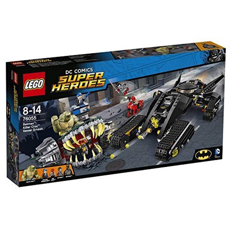 LEGO レゴ DCスーパーヒーローズ 2016後半新商品 バットマン:キラークロック 下水道での対決 76055 [並行輸入品]