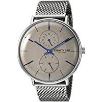 Kenneth Cole New York Men's Japanese Quartz Stainless Steel Chronograph Watch.