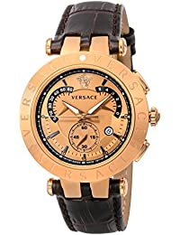 [ヴェルサーチ]VERSACE 腕時計 V-RACECHRONO ゴールド文字盤 23C80D999S497 メンズ 【並行輸入品】