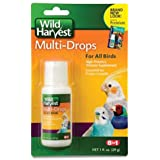 Wild Harvest Multi-Drops For All Birds 1 Ounce, High-Potency Vitamin Supplement