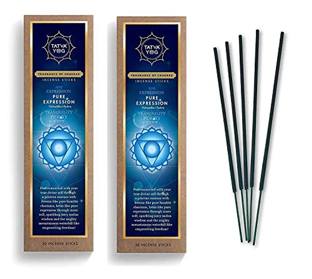 アラブ要求するレビュアーPure Expression Long Lasting Incense Sticks for Daily Pooja|Festive|Home|Scented Natural Agarbatti for Positive Energy|Good Health & Wealth (Pack of 2 | 30 Sticks Per Pack)