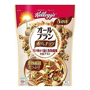 ケロッグ オールブラン香ばしナッツ 410g