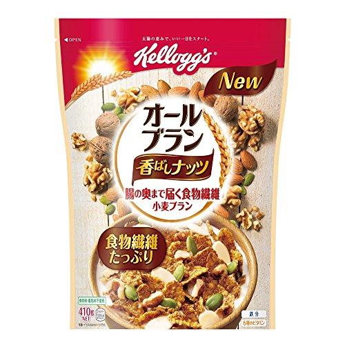 ケロッグ オールブラン香ばしナッツ 410g×6袋