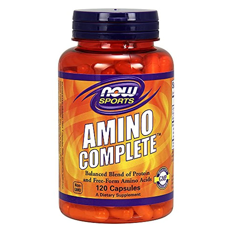 [海外直送品] ナウフーズ  Sports Amino Complete 120 Capsules (Pack of 2)
