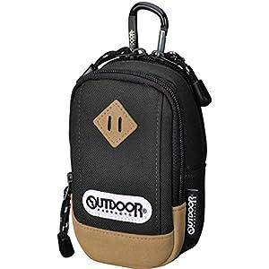 OUTDOOR PRODUCTS (アウトドアプロダクツ) デジタルカメラケース アウトドア カメラポーチ01 ブラック ODCP01BK