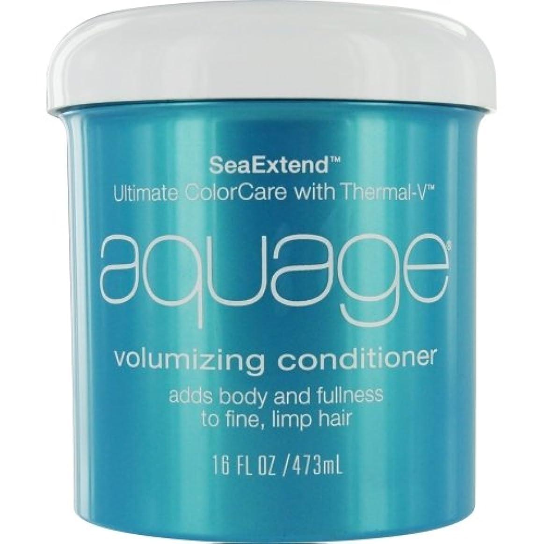 識別する超越する容器by Aquage SEA EXTEND VOLUMIZING CONDITIONER FOR FINE HAIR 16 OZ by AQUAGE