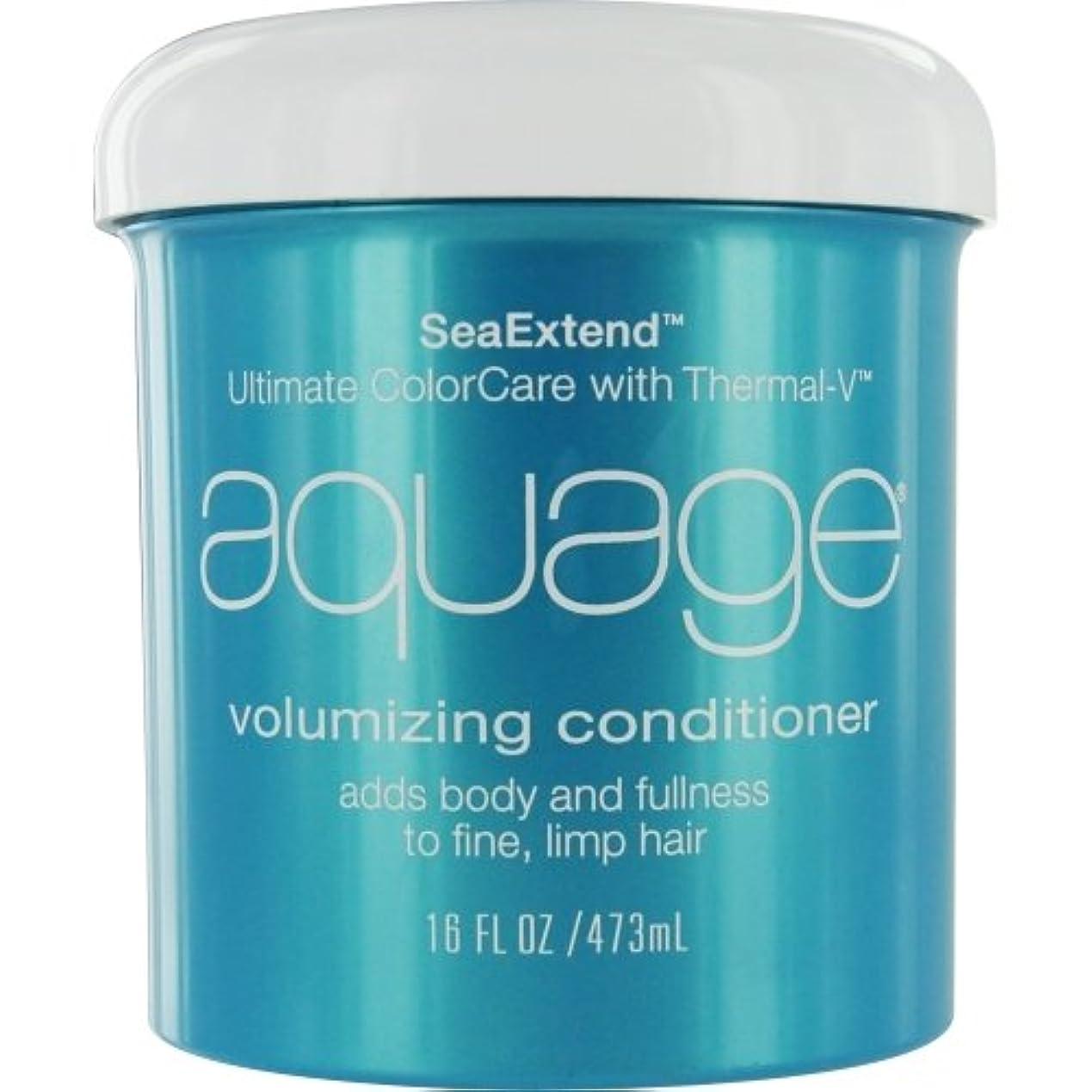 ラベル比喩さびたby Aquage SEA EXTEND VOLUMIZING CONDITIONER FOR FINE HAIR 16 OZ by AQUAGE