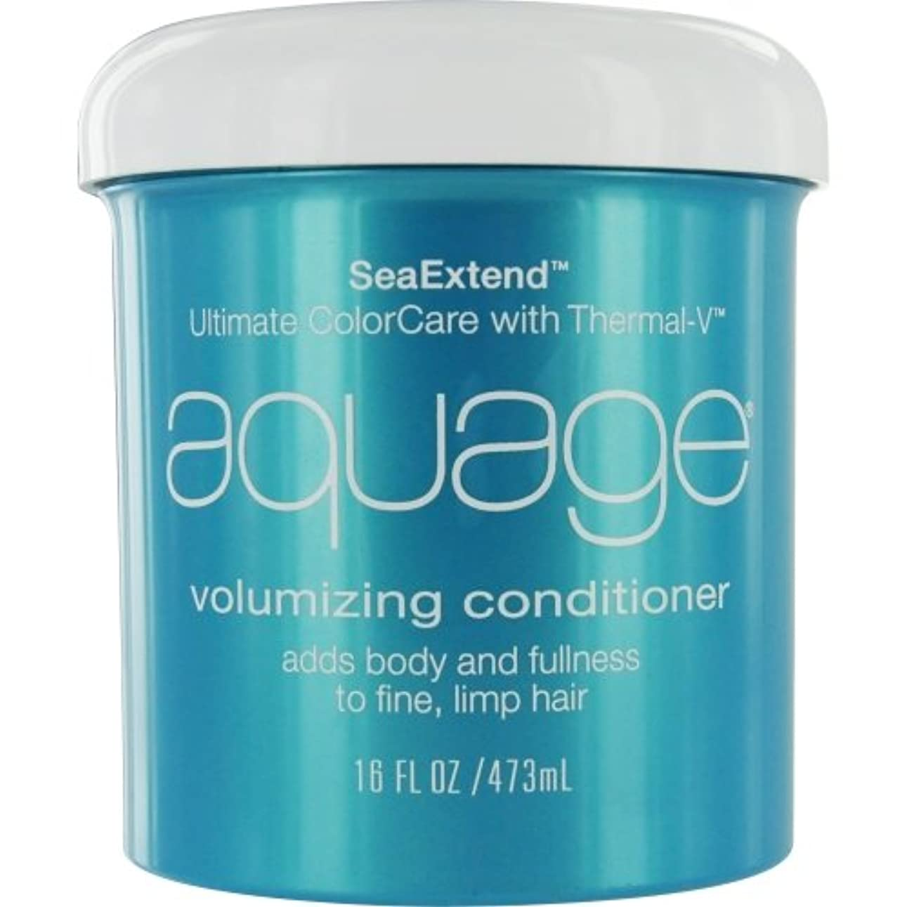 凝視唯物論クラウンby Aquage SEA EXTEND VOLUMIZING CONDITIONER FOR FINE HAIR 16 OZ by AQUAGE