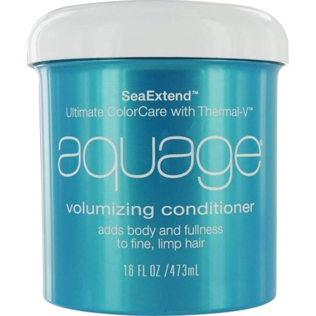 ユダヤ人かき混ぜるリブby Aquage SEA EXTEND VOLUMIZING CONDITIONER FOR FINE HAIR 16 OZ by AQUAGE