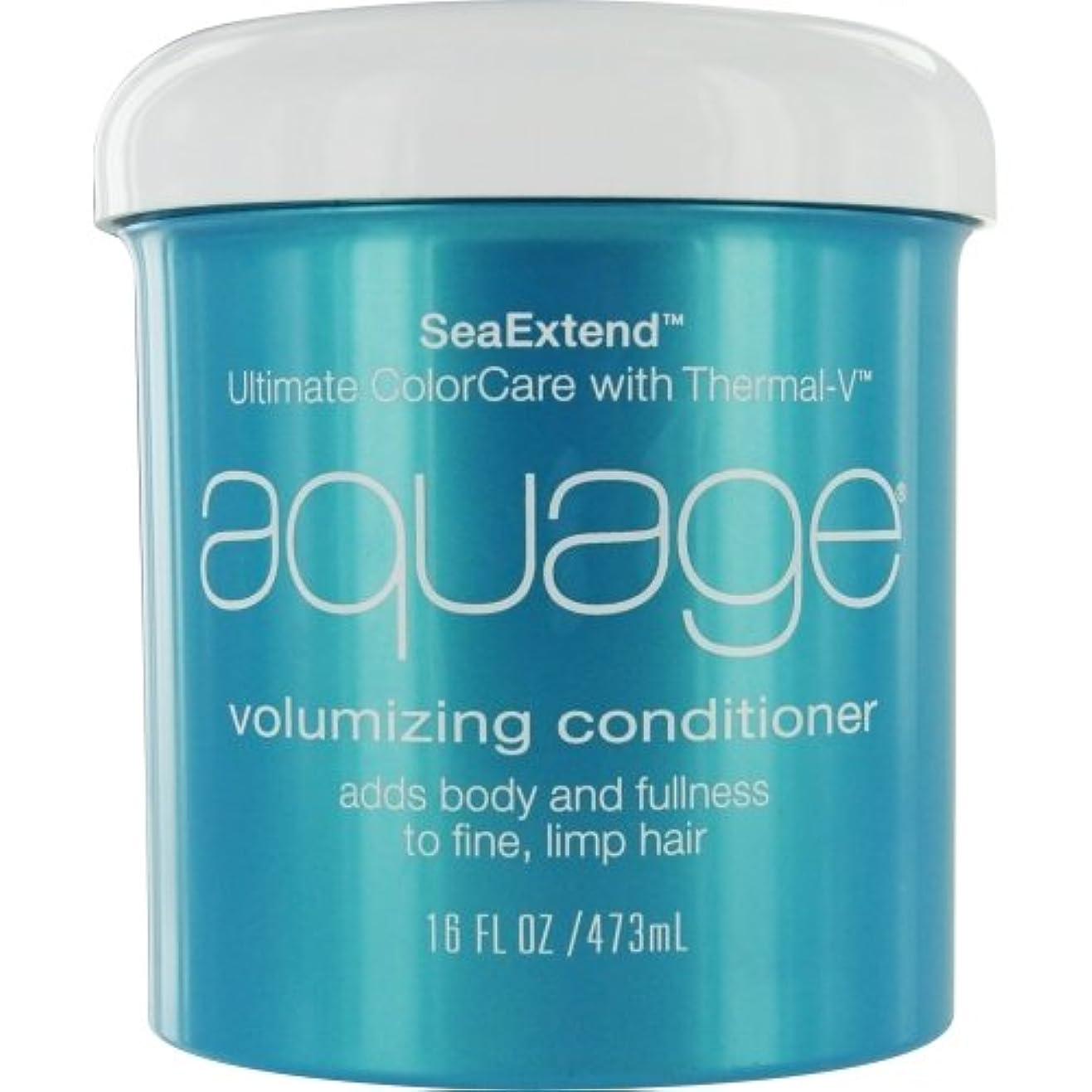 リッチ痛いコメントby Aquage SEA EXTEND VOLUMIZING CONDITIONER FOR FINE HAIR 16 OZ by AQUAGE