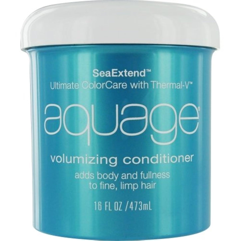 捨てる贅沢プロテスタントby Aquage SEA EXTEND VOLUMIZING CONDITIONER FOR FINE HAIR 16 OZ by AQUAGE
