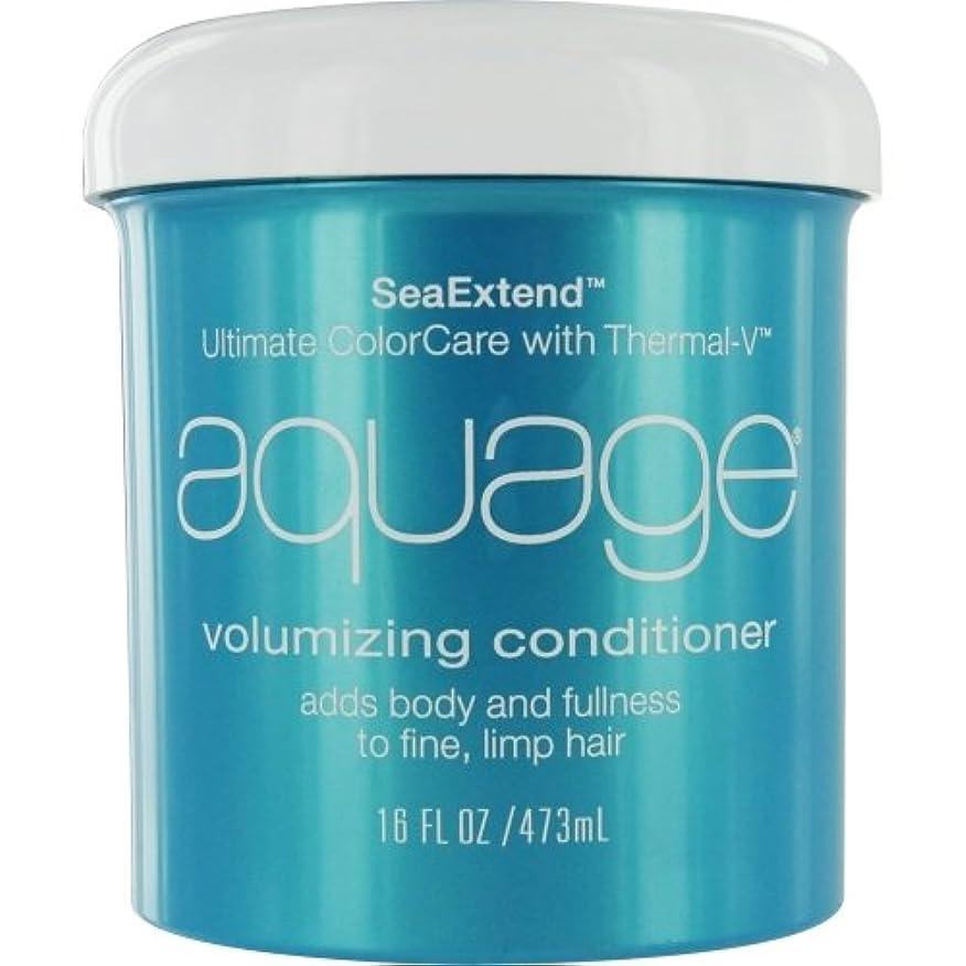 光のアンプにはまってby Aquage SEA EXTEND VOLUMIZING CONDITIONER FOR FINE HAIR 16 OZ by AQUAGE