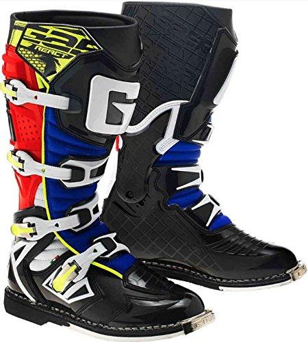 GAERNE ガエルネ G-REACT GOODYEAR BOOT 2018モデル オフロードブーツ ブラック/レッド/イエロー 43(約26.5cm)