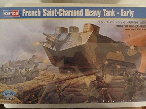 HobbyBoss 1/35 French Saint-Chamond Heavy Tank Early by Hobby Boss [並行輸入品]