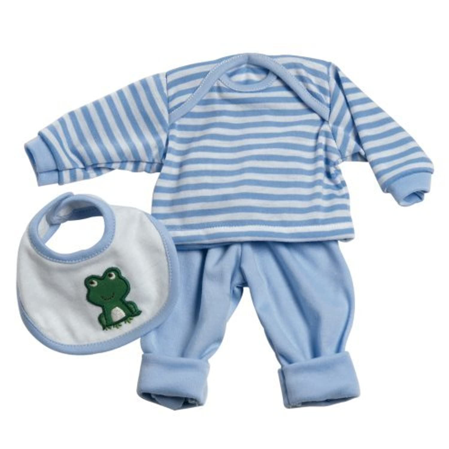 Adora 13inch Baby Doll Accessories 3 Pc. Play Set - Blue [並行輸入品]