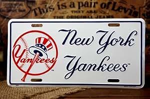 MLB NY Yankees プレート ヤンキース