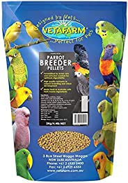 Vetafarm Parrot Breeder Pellets Breeder Vitamins 2 kg, Large