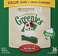 Greenies 108 Count 108-Ounce Dental Chews, Regular by Greenies