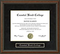 Coastal大学卒業証書曲げフレーム tx-coastal-91-burl