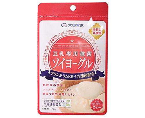 【冷蔵便】太田胃散 豆乳専用種菌 ソイヨーグル / 3g(1.5g×2包) TOMIZ/cuoca(富澤商店)