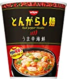 日清食品 とんがらし麺 うま辛海鮮 64gx12個