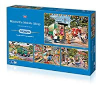 """Gibsons G5040""""Mitchell's Mobile Shop"""" Jigsaw Puzzle (4 x 500-Piece)"""