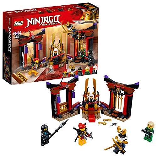 レゴ(LEGO)ニンジャゴー 闇の玉座での決戦 70651