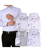 (アトリエサンロクゴ) atelier365 ワイシャツ 選べる6種類 5枚セット長袖 /at101