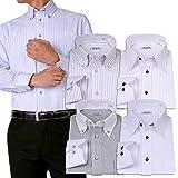 (アトリエサンロクゴ) atelier365 ワイシャツ 選べる6種類 5枚セット長袖 /at101-4L-47-86-AT101-Eset