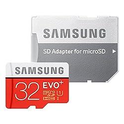 Samsung microSDHCカード 32GB EVO+ Class10 UHS-I対応 (最大読出速度80MB s:最大書込速度20MB s) MB-MC32DA FFP