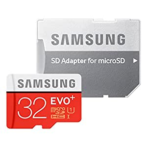 Samsung microSDHCカード 32GB EVO+ Class10 UHS-I対応 (最大読出速度80MB/s:最大書込速度20MB/s) MB-MC32DA/FFP
