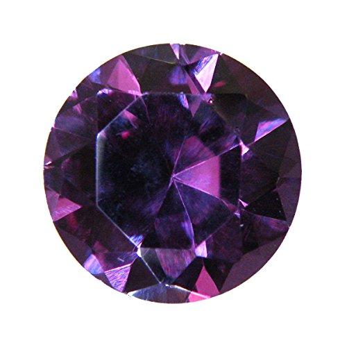 [해외][테 소로] TESORO 천연석 합성 바이올렛 사파이어 라운드 컷 7mm gs-sp-3905/[Tesoro] TESORO Natural Stone Synthetic Violet Sapphire Round Cut 7 mm gs - sp - 3905