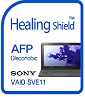 Healingshield スキンシール液晶保護フィルム Oleophobic AFP Clear Film for Sony Laptop Vaio SVE11