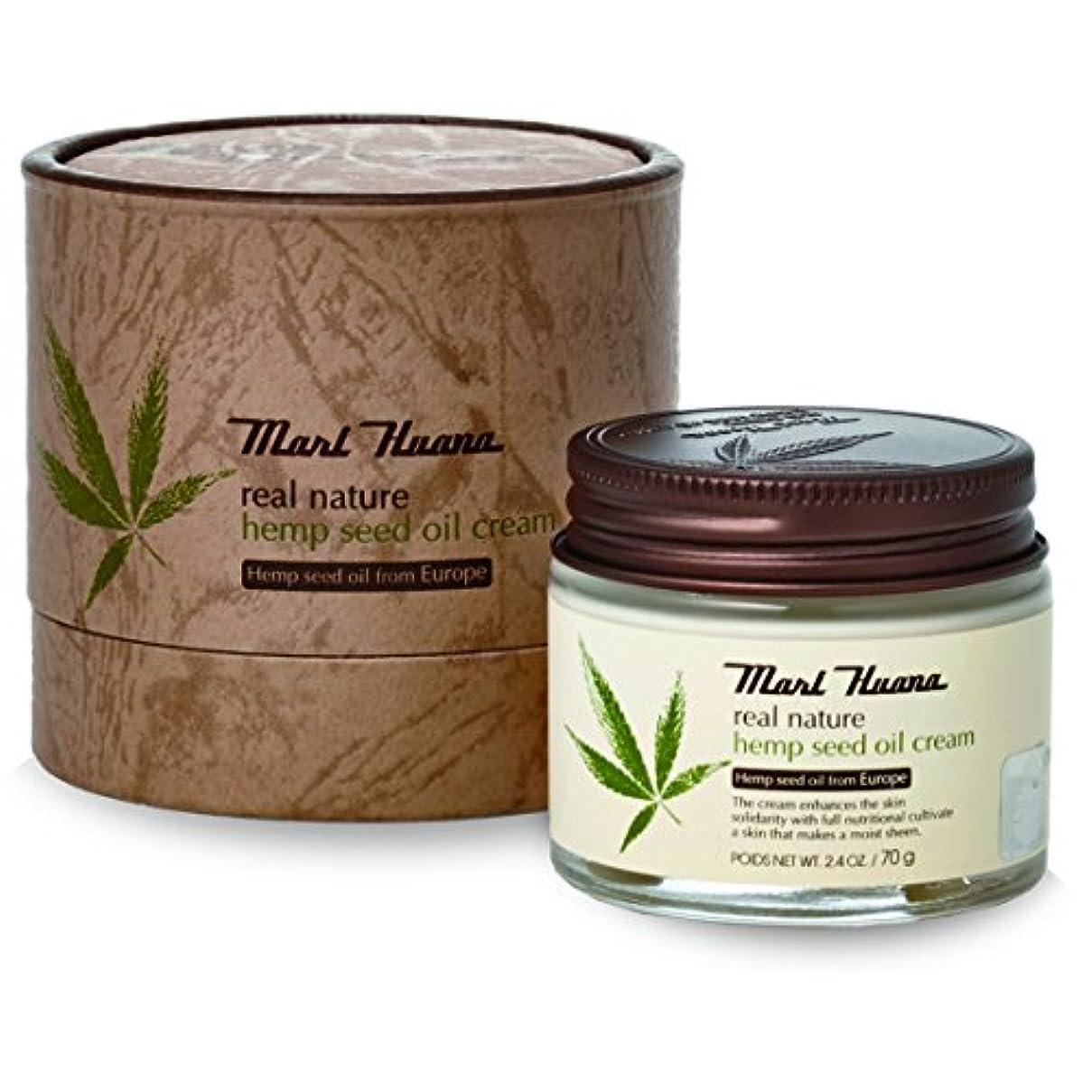 穀物証言シフト[訳有り?OUTLET] Marihuana Real Natural Hemp Seed Oil Cream マリーフアナ リアルナチュラルヘンプシードオイルクリーム [並行輸入品]