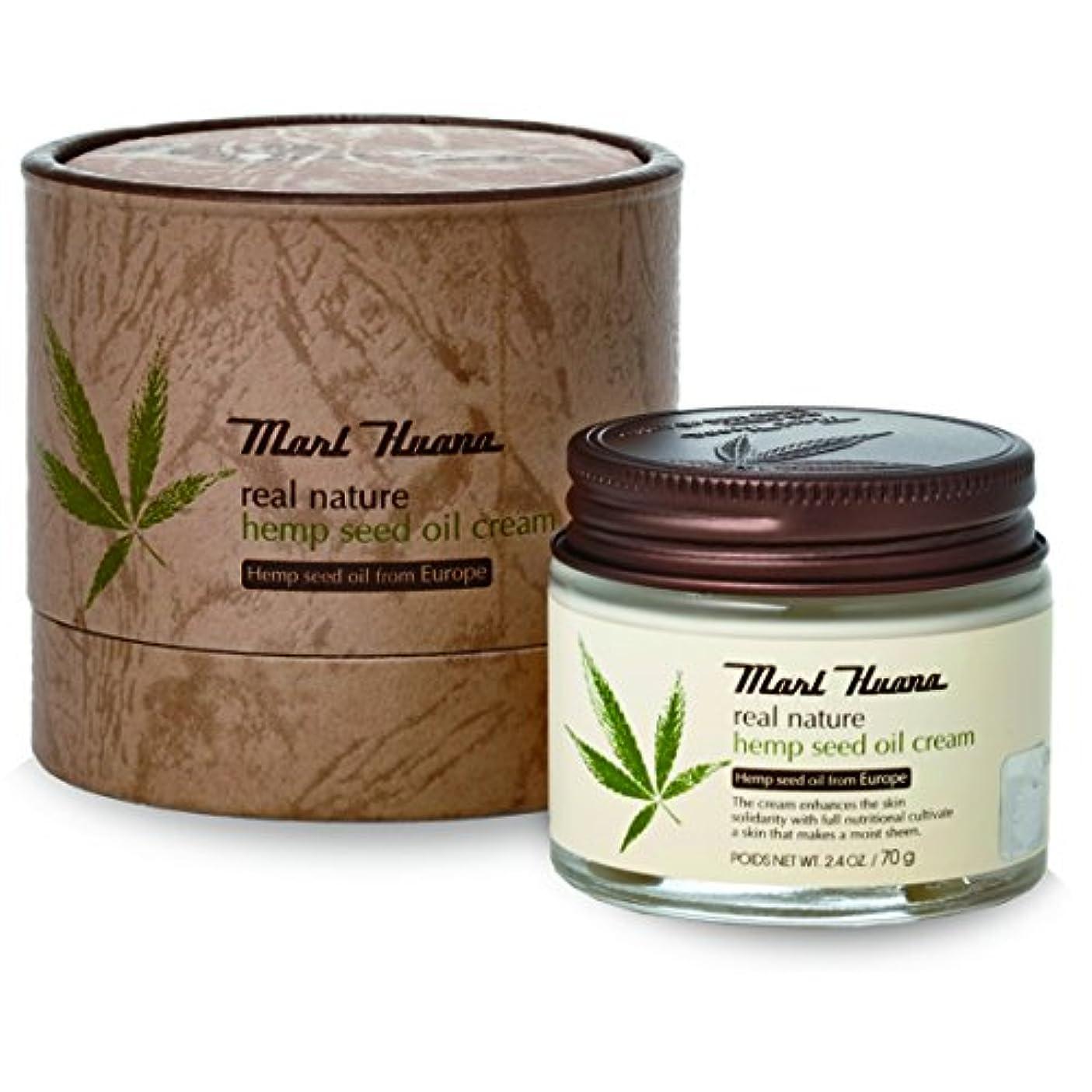 偽善長さホラー[訳有り?OUTLET] Marihuana Real Natural Hemp Seed Oil Cream マリーフアナ リアルナチュラルヘンプシードオイルクリーム [並行輸入品]