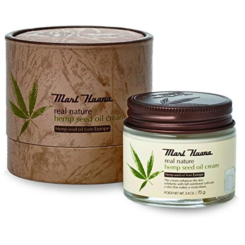 安らぎ洗剤休憩する[訳有り?OUTLET] Marihuana Real Natural Hemp Seed Oil Cream マリーフアナ リアルナチュラルヘンプシードオイルクリーム [並行輸入品]