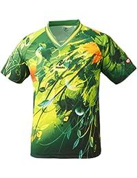 ニッタク(Nittaku) 卓球 男女兼用 ゲームシャツ スカイリーフシャツ NW-2180