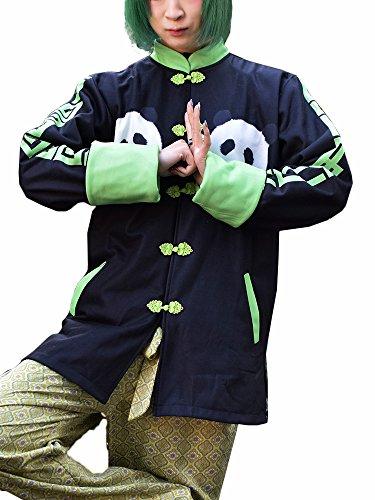 (エーシーディーシーラグ) ACDC RAG パンダチャイナジャケット パンダ チャイナ ファッション 原宿系 (薄手)