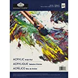 "Essentials Oil & Acrylic Artist Paper Pad 9""X12""-22 Sheets (並行輸入品)"