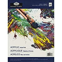"Essentials Oil & Acrylic Artist Paper Pad 9""X12""-22 Sheets (並行輸入品)"
