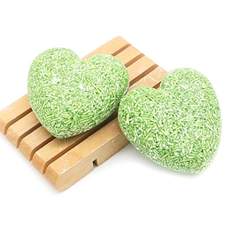 受粉者ダーリン過敏な石鹸、環境に優しい固形シャンプー、ナチュラルさわやかなオイルコントロールソープ