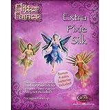 Mazaa Flitter Fairies Combo Pack: Mara, Extra Pixie Silks, Batteries - Makes a Great Stocking Stuffer, Set of 12