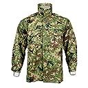 【新登場】陸上自衛隊 迷彩 戦闘服3型 ベルト付YKKファスナー付 上下セット Lサイズ ウェストサイズ:94-98cm