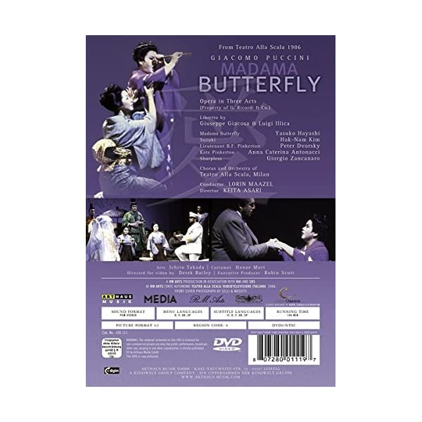 Madama Butterfly / [DVD...の紹介画像2