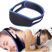 アンチsnore顎ストラップ停止のいびきSnoreベルト睡眠無呼吸チンサポートストラップ女性のためのヘルスケア睡眠補助ツール