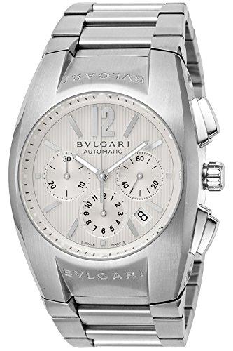[ブルガリ]BVLGARI 腕時計 EG40C6SSDCH エルゴン クロノグラフ ホワイト メンズ...