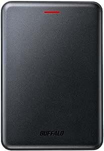 BUFFALO 高速・薄型 USB3.1(Gen2) ポータブルSSD 480GB ブラック SSD-PUS480U3-B
